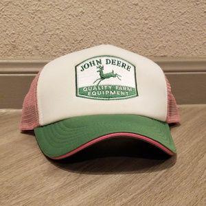John Deere Women's Foam Front Mesh Trucker Hat